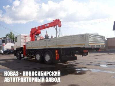 Бортовой грузовик МАЗ 65012J c манипулятором Kanglim KS2056H