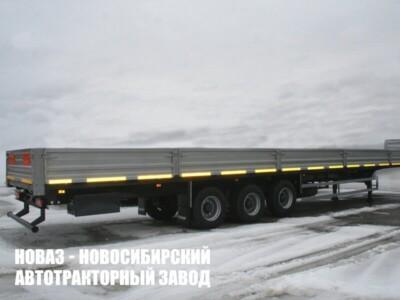 Бортовой полуприцеп ТОНАР 98881 B3-16/K с платформой 16520х2480х580 мм