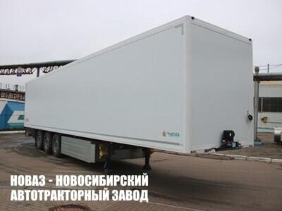 Изотермический полуприцеп КУПАВА 93W000 с платформой 13385х2488х2555 мм