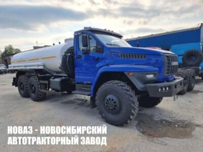 Пищевая цистерна 9,5 м³ с 1 секцией на базе Урал NEXT 4320-6952-72