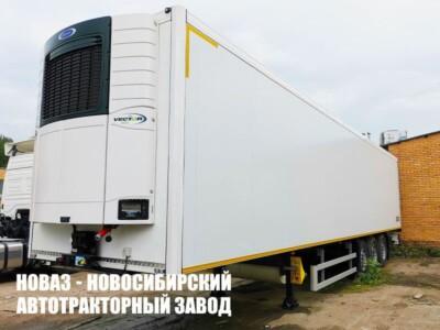 Полуприцеп рефрижератор КУПАВА 93W000 Carrier Vector 1550 с платформой 13385х2488х2555 мм