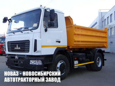 Самосвал МАЗ 5550С3-581-000 грузоподъемностью 12000 кг