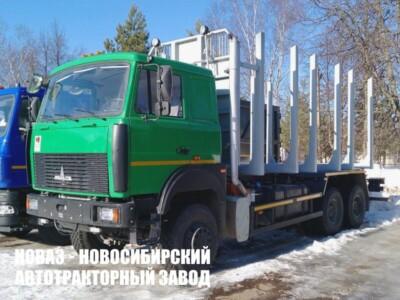 Лесовоз МАЗ 6317F9-544-000 грузоподъемностью 14950 кг