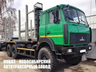 Лесовоз МАЗ 6317F9-565-000 грузоподъемностью 13800 кг