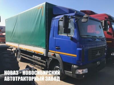 Тентованный грузовик МАЗ 437121-540-000 с платформой 6300х2550х2500 мм