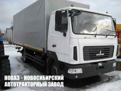 Тентованный грузовик МАЗ 4371С0-540-000 с платформой 6300х2550х2500 мм