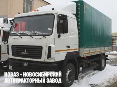 Тентованный грузовик МАЗ 534026-8520-000 с платформой 6150х2480х2540 мм